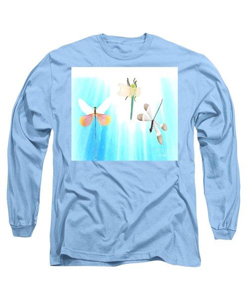Realization Of Life Long Sleeve T-Shirt by Belinda Threeths