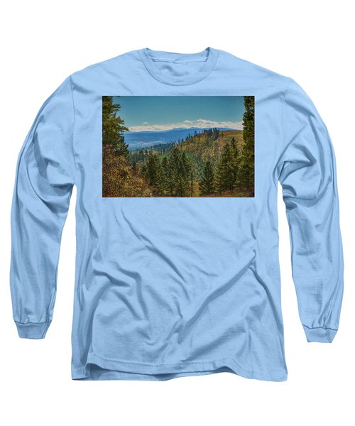 Recovery After Fire At Yellowstone Long Sleeve T-Shirt by Penny Lisowski