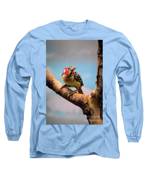 Red And Yellow Barbet Long Sleeve T-Shirt