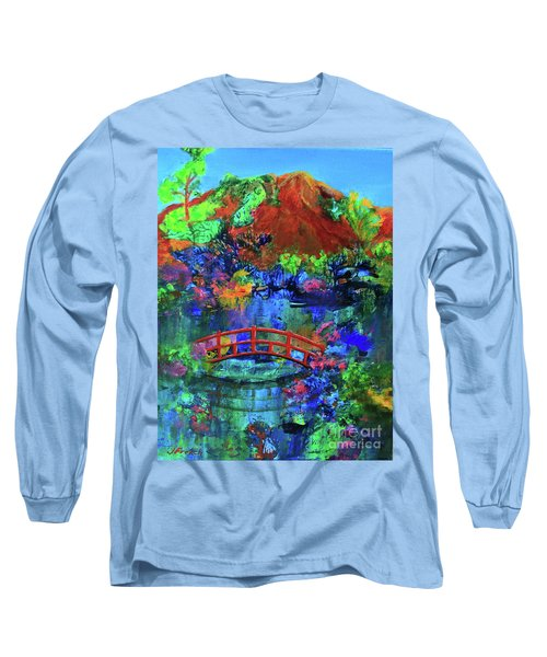 Red Bridge Dreamscape Long Sleeve T-Shirt