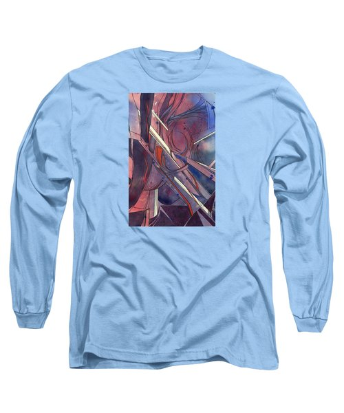 Red Kayaks On A Trailer Long Sleeve T-Shirt