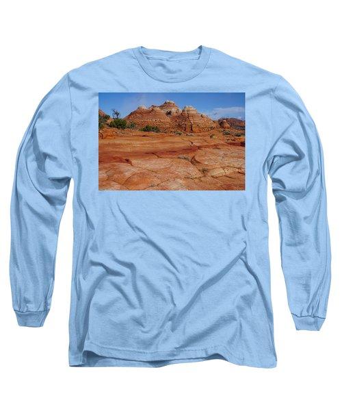 Red Rock Buttes Long Sleeve T-Shirt