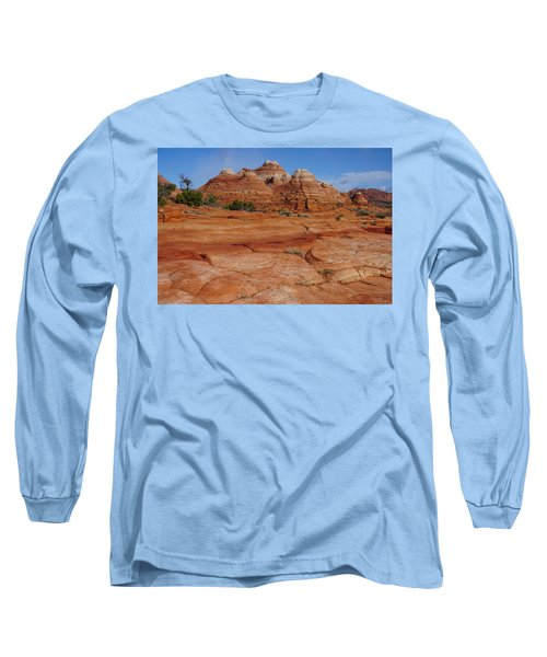 Red Rock Buttes Long Sleeve T-Shirt