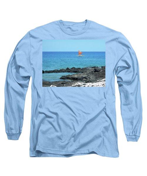 Red Sail Long Sleeve T-Shirt