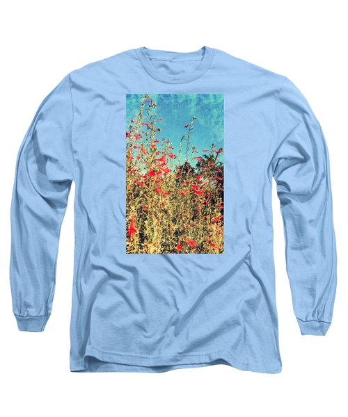Red Trumpets Playing Long Sleeve T-Shirt
