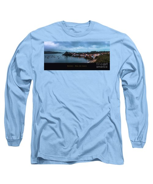 Redes Ria De Ares La Coruna Spain Long Sleeve T-Shirt by Pablo Avanzini