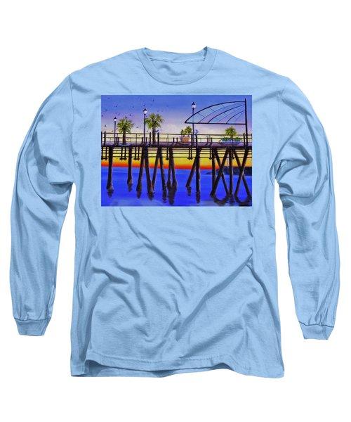Redondo Beach Pier Long Sleeve T-Shirt