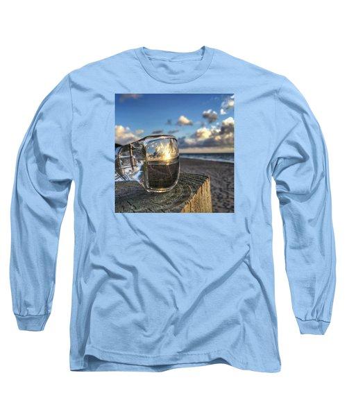 Reflecting Sunglasses Long Sleeve T-Shirt