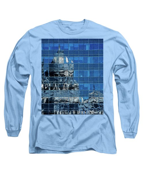 Reflection And Refraction Long Sleeve T-Shirt by Alex Galkin