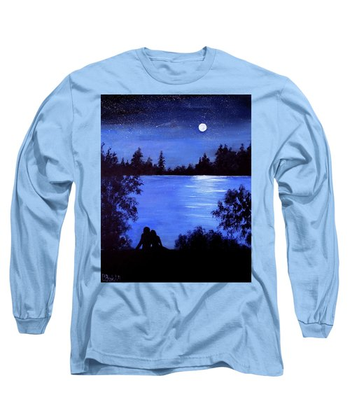 Reflection By The Water Long Sleeve T-Shirt