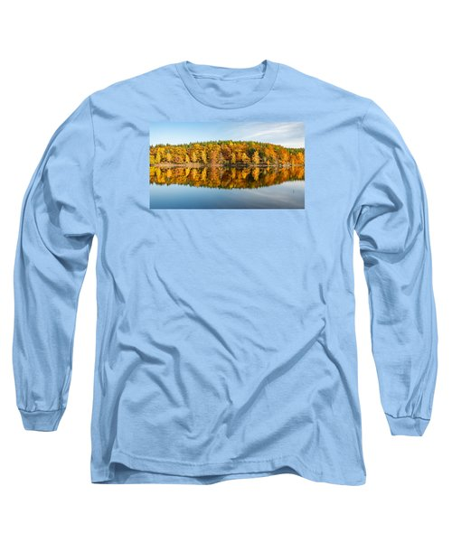 Reflection Of Autumn Long Sleeve T-Shirt by Andreas Levi