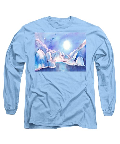 Winter - Reflection Of The Moon Long Sleeve T-Shirt