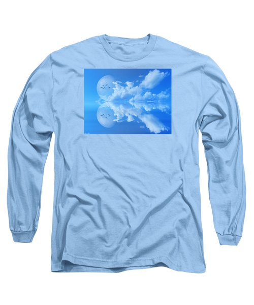Long Sleeve T-Shirt featuring the photograph Reflections by Bernd Hau