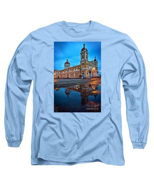 Reflections Of Granada, Nicaragua  Long Sleeve T-Shirt