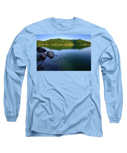 Reflections Of Tranquility Long Sleeve T-Shirt