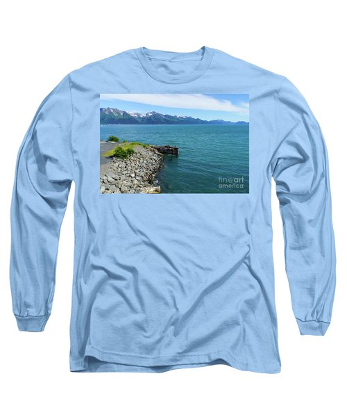 Resurrection Bay Long Sleeve T-Shirt by Jennifer White