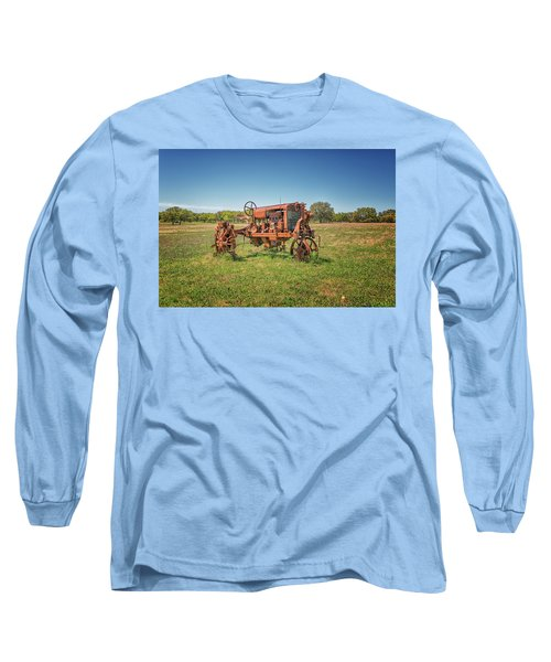 Retired Tractor Long Sleeve T-Shirt