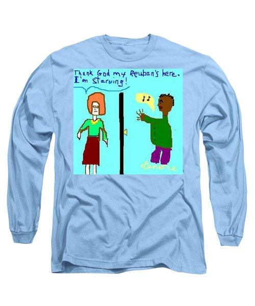 Reuben Long Sleeve T-Shirt by Lenore Senior