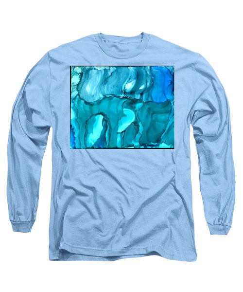 Rhabsody In Blue Long Sleeve T-Shirt