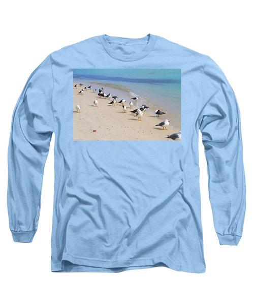 Rhapsody In Seabird Long Sleeve T-Shirt