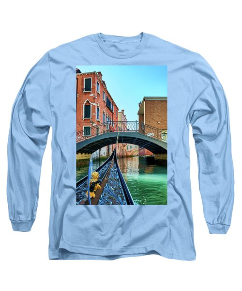 Ride On Venetian Roads Long Sleeve T-Shirt