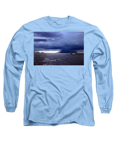Riders On The Storm Long Sleeve T-Shirt by Rdr Creative