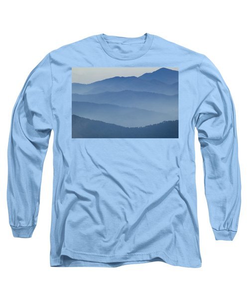 Ridgelines Great Smoky Mountains Long Sleeve T-Shirt