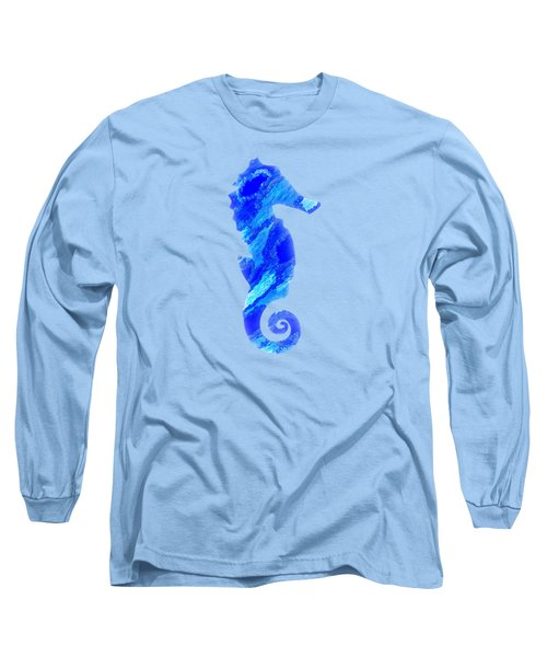 Right Facing Seahorse Bt Long Sleeve T-Shirt