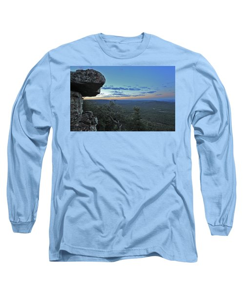 Rim Daybreak Long Sleeve T-Shirt by Gary Kaylor