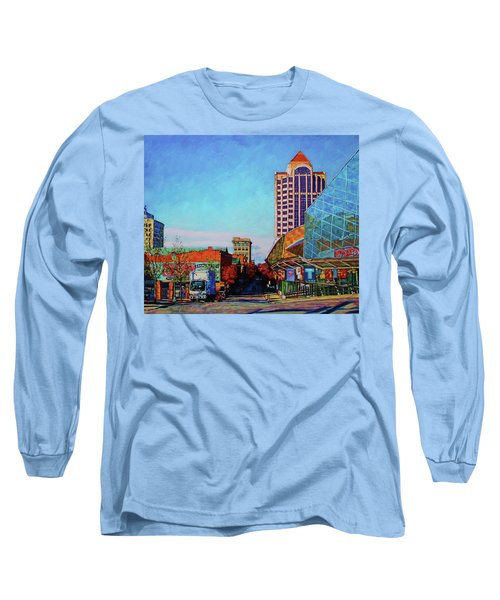 Rise And Shine - Roanoke Virginia Morning Long Sleeve T-Shirt