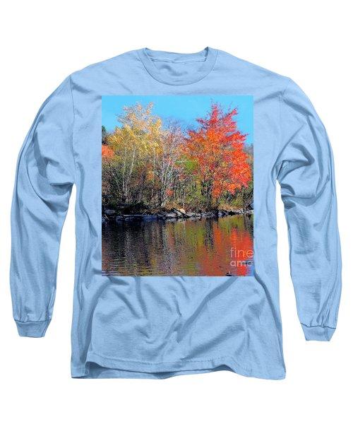 River Color Long Sleeve T-Shirt