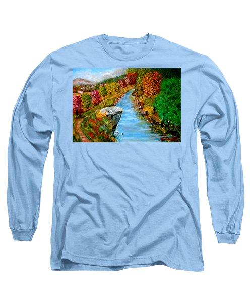 River Lousios  Long Sleeve T-Shirt