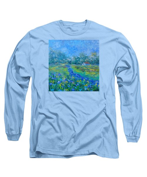 River Of South Of France Long Sleeve T-Shirt