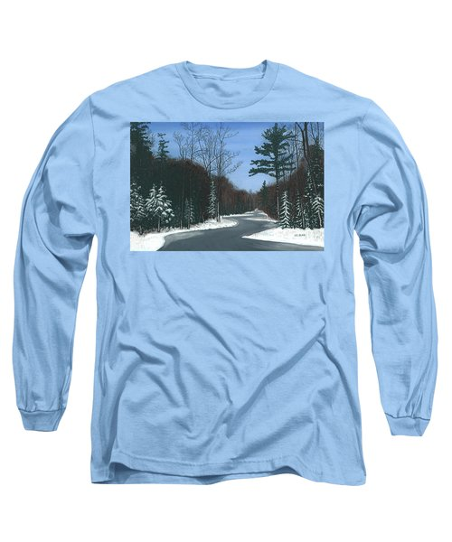 Road To Northport - Winter Long Sleeve T-Shirt