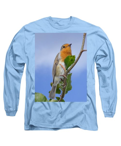 Robin In Eden Long Sleeve T-Shirt