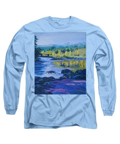 Rock Creek Fishing Hole Long Sleeve T-Shirt