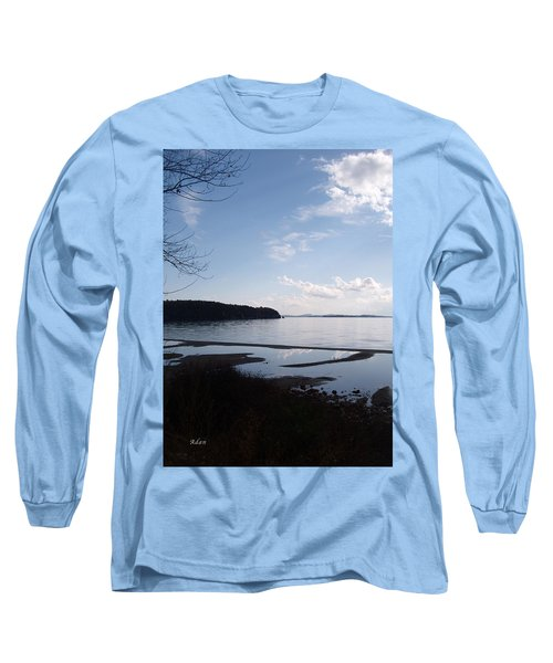 Rock Point North View Vertical Long Sleeve T-Shirt by Felipe Adan Lerma