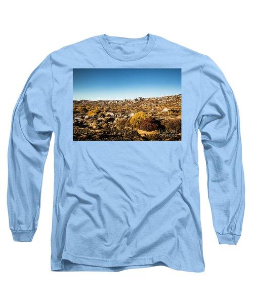 Rocky Alpine Village Long Sleeve T-Shirt