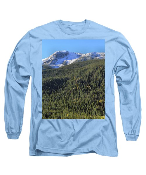 Long Sleeve T-Shirt featuring the photograph Rocky Mountain Evergreen Landscape by Dan Sproul
