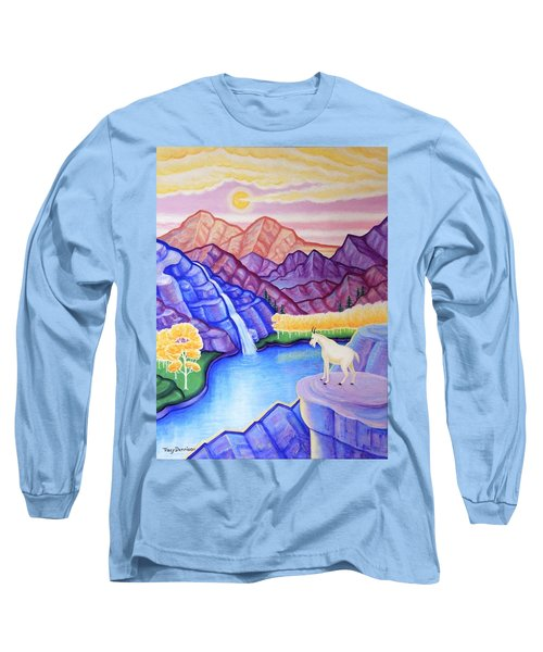 Rocky Mountain High Long Sleeve T-Shirt by Tracy Dennison