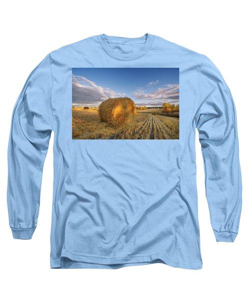 Rolling Hills Long Sleeve T-Shirt by Dan Jurak