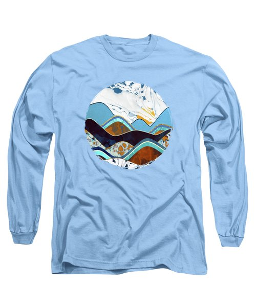 Rolling Hills Long Sleeve T-Shirt by Spacefrog Designs