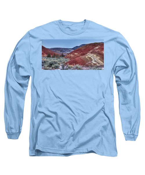 Rolling Red Long Sleeve T-Shirt