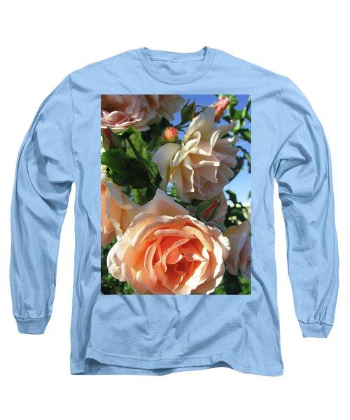 Rose Di Vine Long Sleeve T-Shirt by Brooks Garten Hauschild
