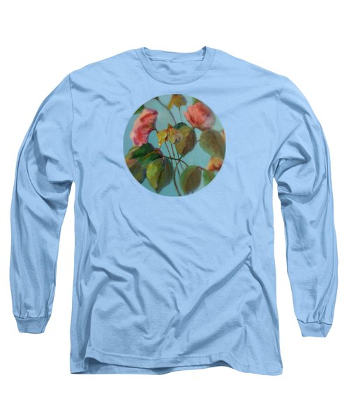 Roses And Wildflowers Long Sleeve T-Shirt
