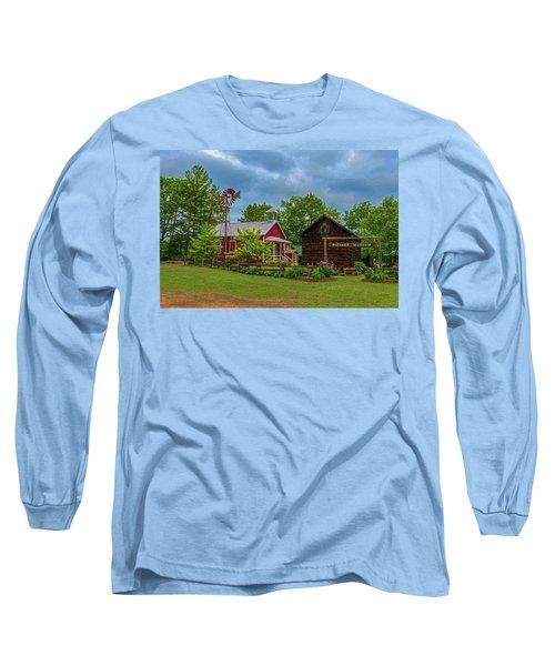 Rosholt Pioneer Park Long Sleeve T-Shirt by Trey Foerster