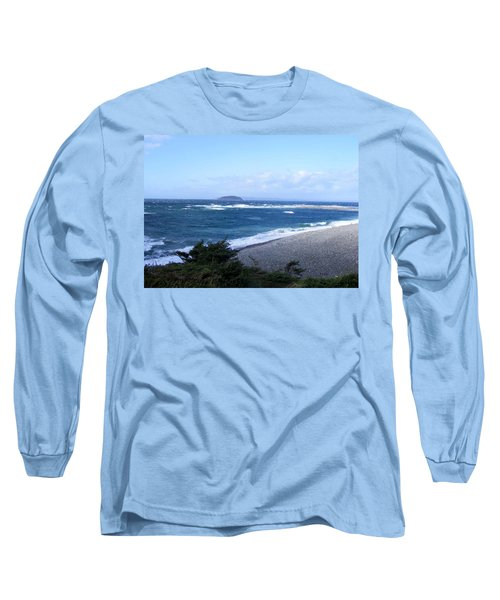 Rough Day On The Point Long Sleeve T-Shirt by Barbara Griffin