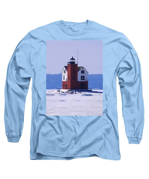 Round Island 2 Long Sleeve T-Shirt by Keith Stokes
