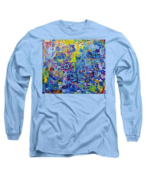 Rube Goldberg Abstract Long Sleeve T-Shirt