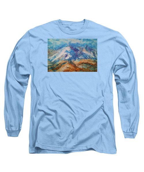 Rugged Terrain Long Sleeve T-Shirt by Becky Chappell